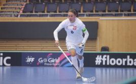 Dominika Buczek vede Polsko jako kapitánka. Foto: Adam Troy