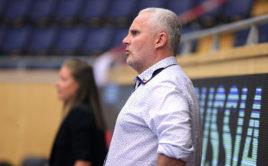 Hlavní trenér reprezentace juniorek Tomáš Martiník. Foto: Per Wiklund