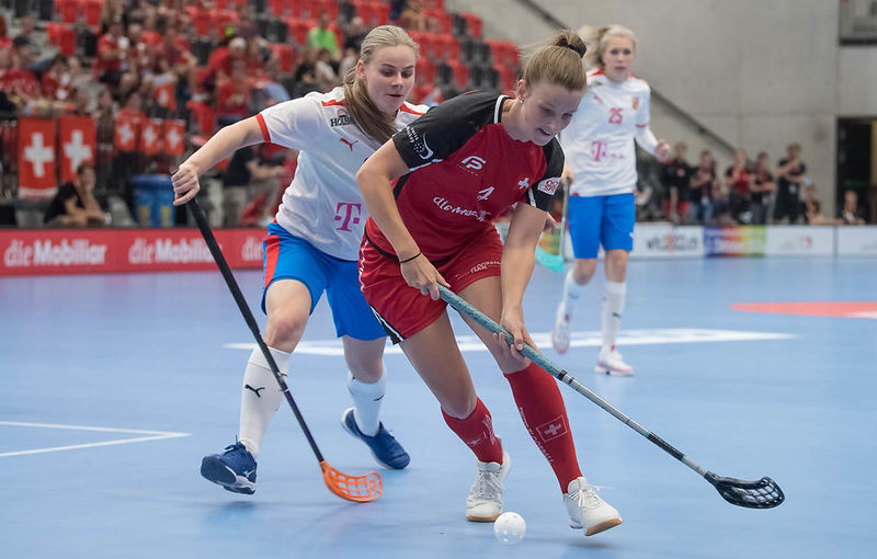 České reprezentantky ve Švýcarsku třikrát prohrály. Foto: Swiss Unihockey