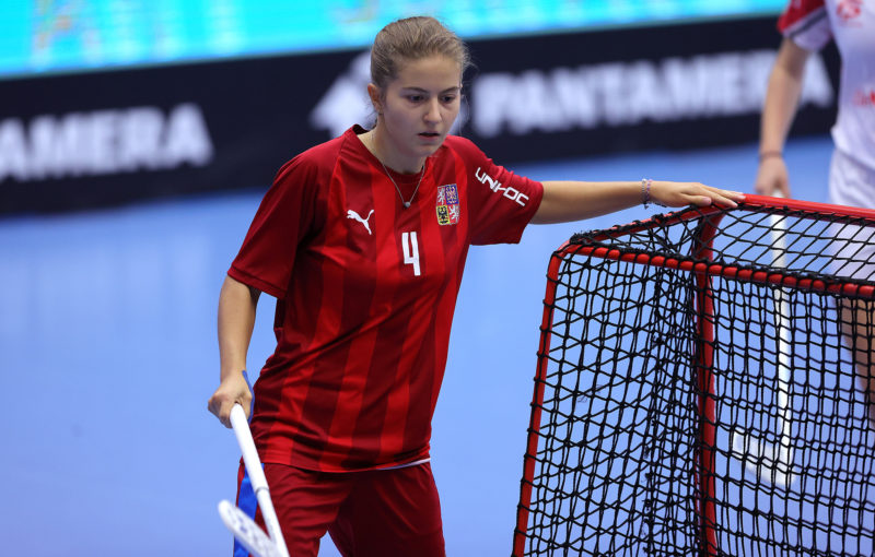 Michaela Kubečková splnila na šampionátu roli lídra. Foto: Per Wiklund