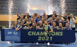 Finsko slaví zlato na MS juniorek. Foto: Per Wiklund