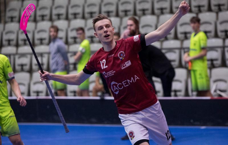 Lukáš Ujhélyi se raduje z gólu do sítě Vítkovic. Foto: ACEMA Sparta Praha