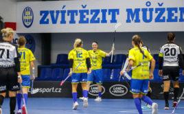 Michaela Mlejnková zkompletovala proti Panthers hattrick a přidala dvě asistence. Foto: FBC ČPP Ostrava