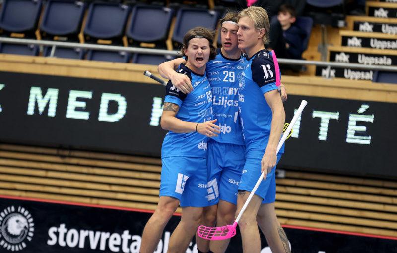 Filip Langer vsítil svůj třetí gól v letošní sezoně. Foto: Per Wiklund, www.perwiklund.se